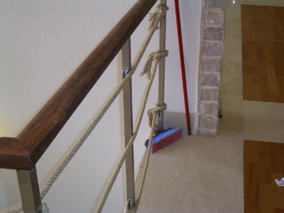 Treppenhaus vor der teilweisen Fertigstellung am 28. Mai lti Xanthe Resort & Spa