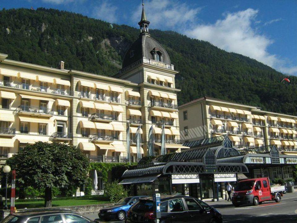 Aussenansicht Victoria-Jungfrau Grand Hotel & Spa