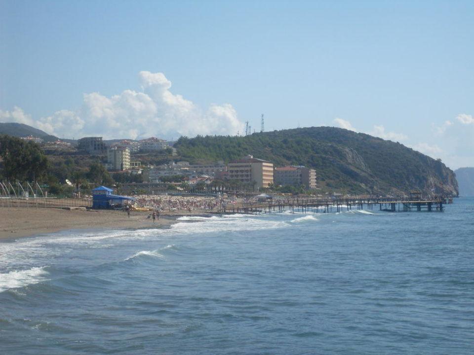 Das ist das Meer Xeno Eftalia Resort Hotel