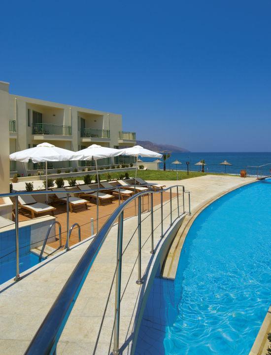 River Style Swimming Pool Grand Bay Beach Resort Kolymvari Holidaycheck Kreta Griechenland