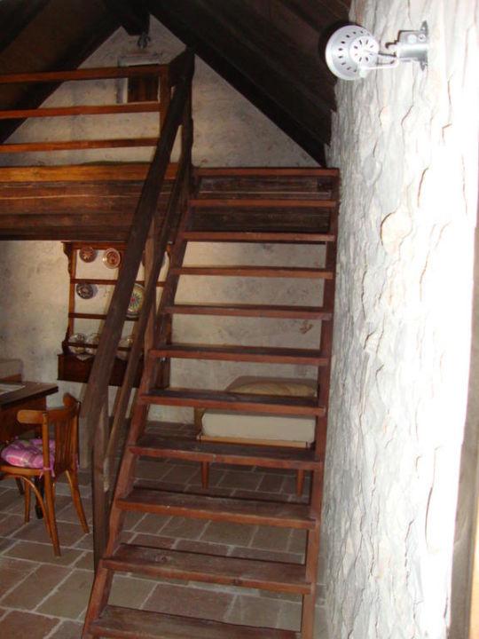 Accesso soppalco suite B&B Fontana Vecchia