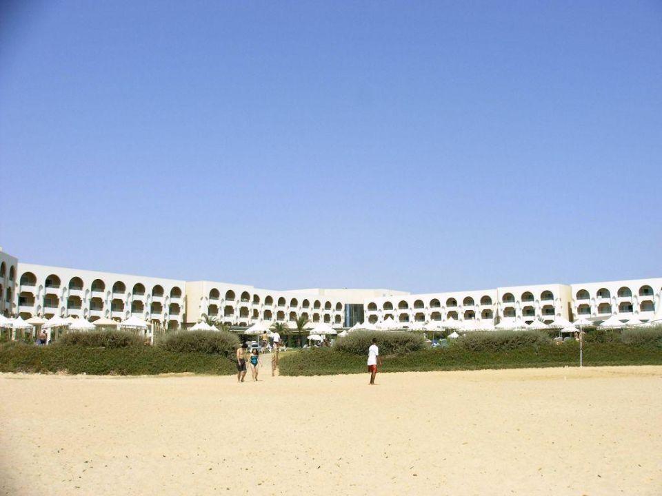 Hotel von hinten Iberostar Averroes
