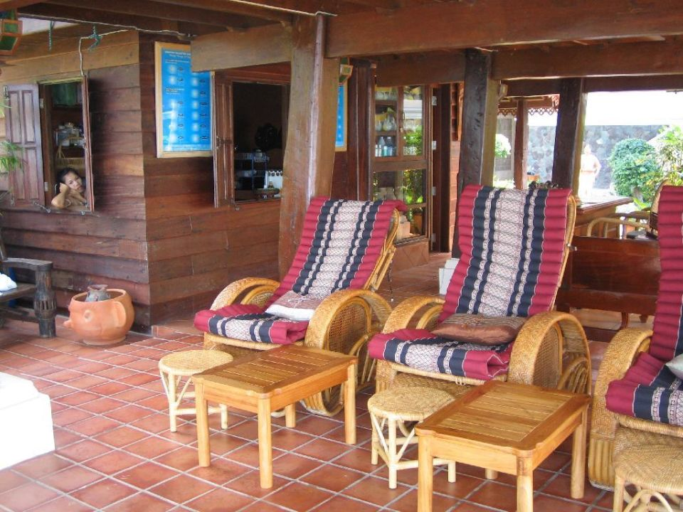 Bereit zur Fußmassage! Santhiya Tree Koh Chang Resort