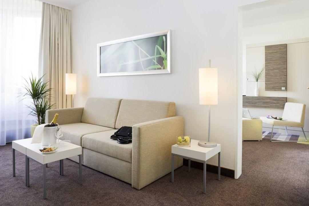 Suite in der 10. Etage Hotel Mercure Koblenz