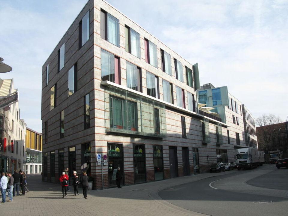 Tolle Dachterrasse Des Restaurants H4 Hotel Munster City Centre