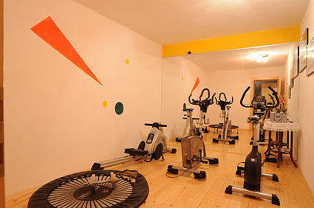Fitnessraum Apartments Walder