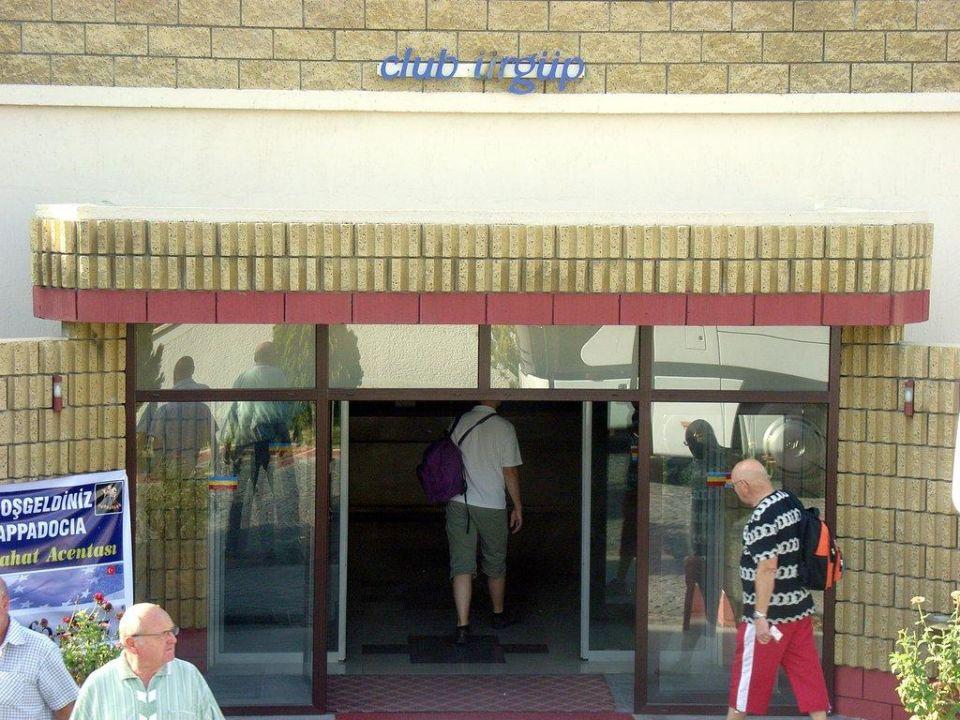 Eingang Hotel Club Ürgüp