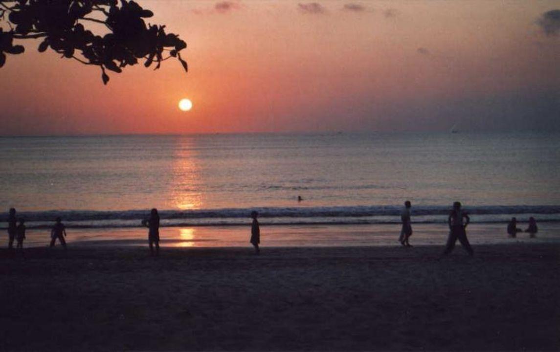 Sonnenuntergang/Strand Hotel Keraton Hotel Keraton Jimbaran Resort