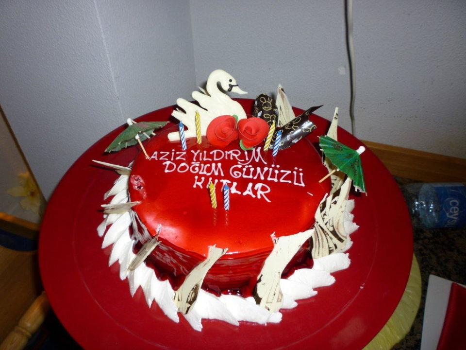 Kuchen Zum Geburtstag Eines Gastes Sunis Kumkoy Resort Hotel Spa
