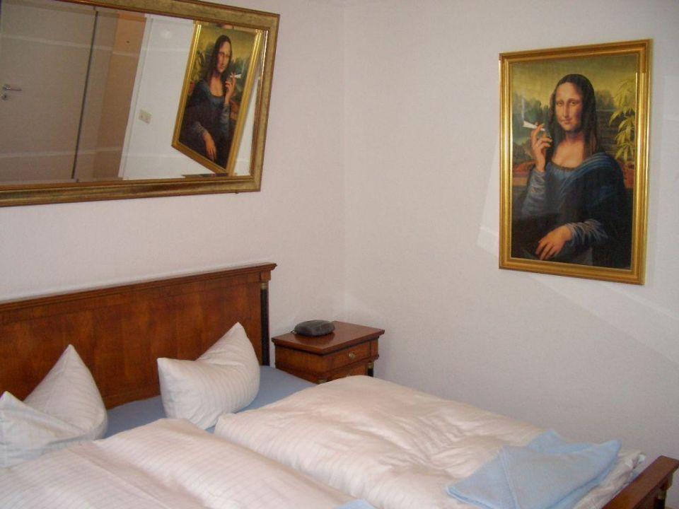 Schlafzimmer Aparthotel Victoria