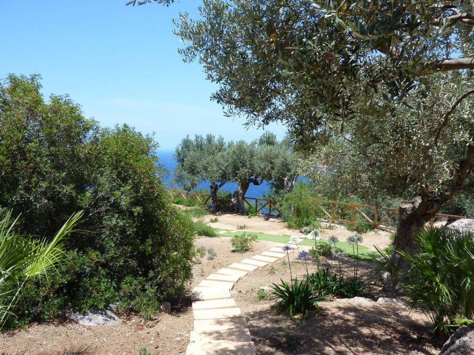 Wunderschöne Gartenanlage Hotel Sa Pedrissa