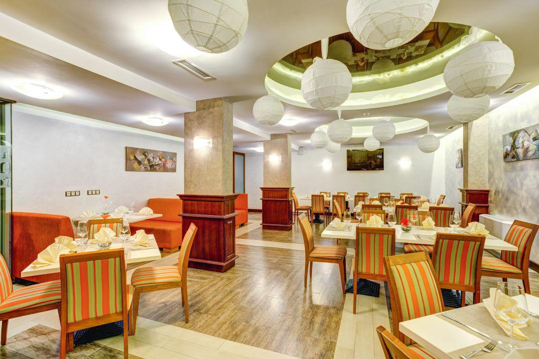 Restaurant Budapest Hotel