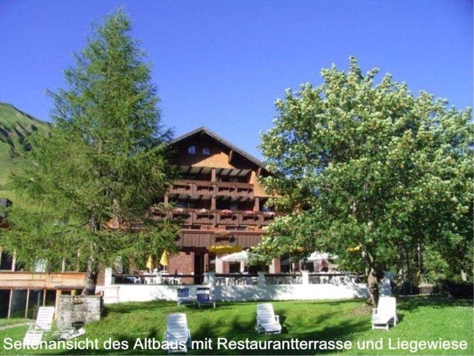 Altbau mit Terrasse Hotel Widderstein