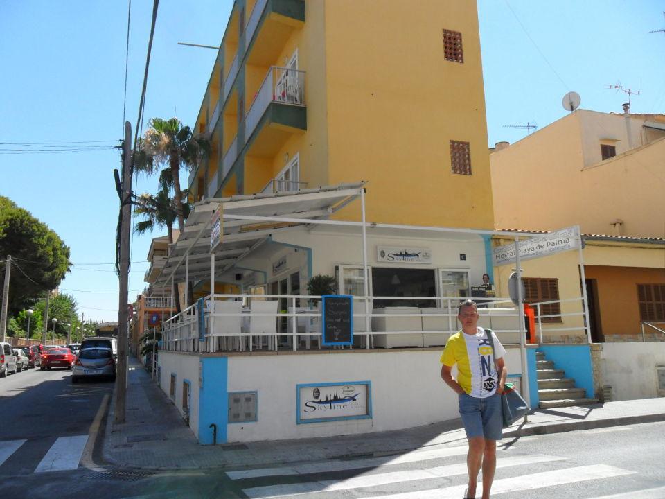 Nebeneingang Hostal Playa De Palma