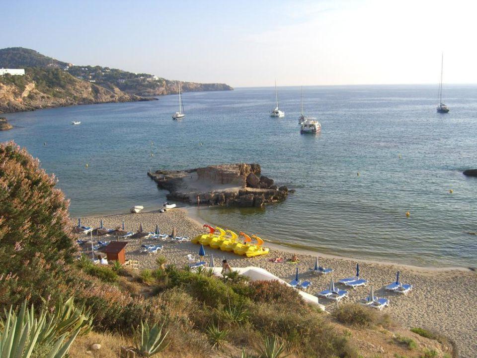 Der schöne Strand von Cala Tarida Insotel Tarida Beach Sensatori Resort
