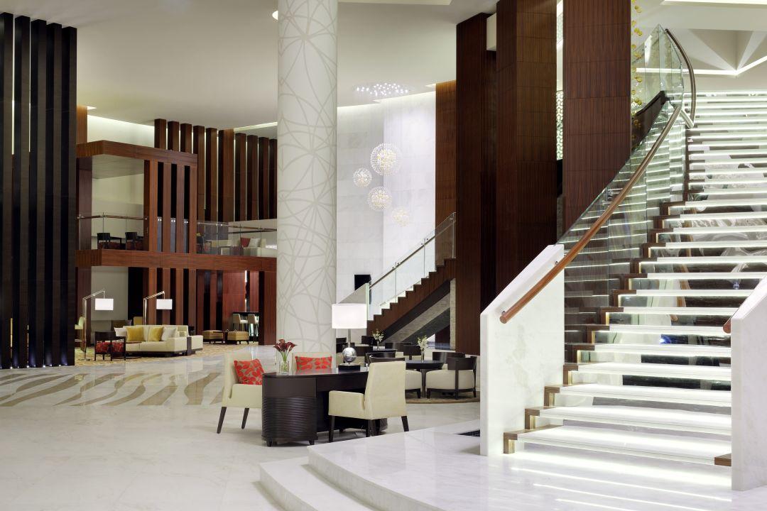 Lobby Marriott Hotel Al Jaddaf Dubai