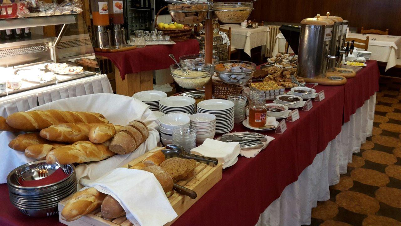 Buffet di colazione Hotel Sandro