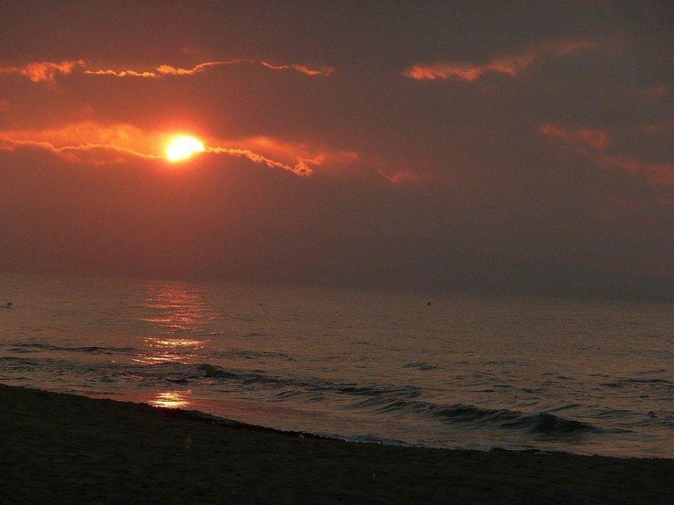 Sonnenaufgang morgens um 5 Uhr Club Lookea Salammbo