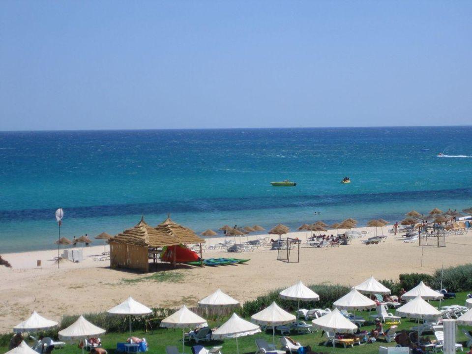 Strand und Meer vom Balkon aus Iberostar Averroes