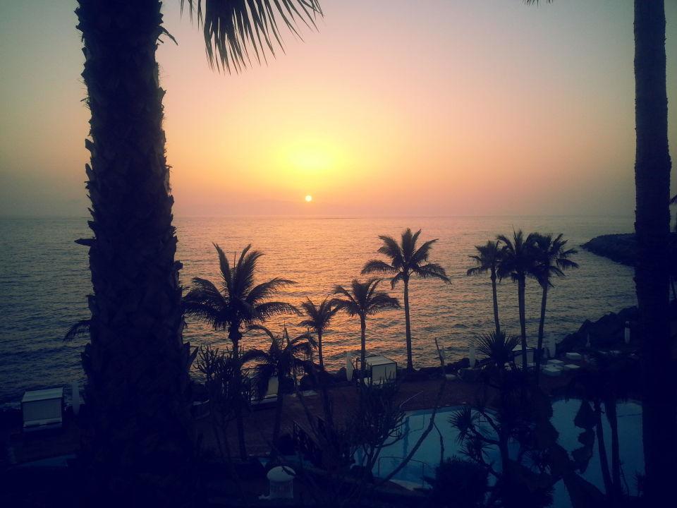 Sonnenuntergang Am Strand Allsun Hotel Los Hibiscos Costa Adeje