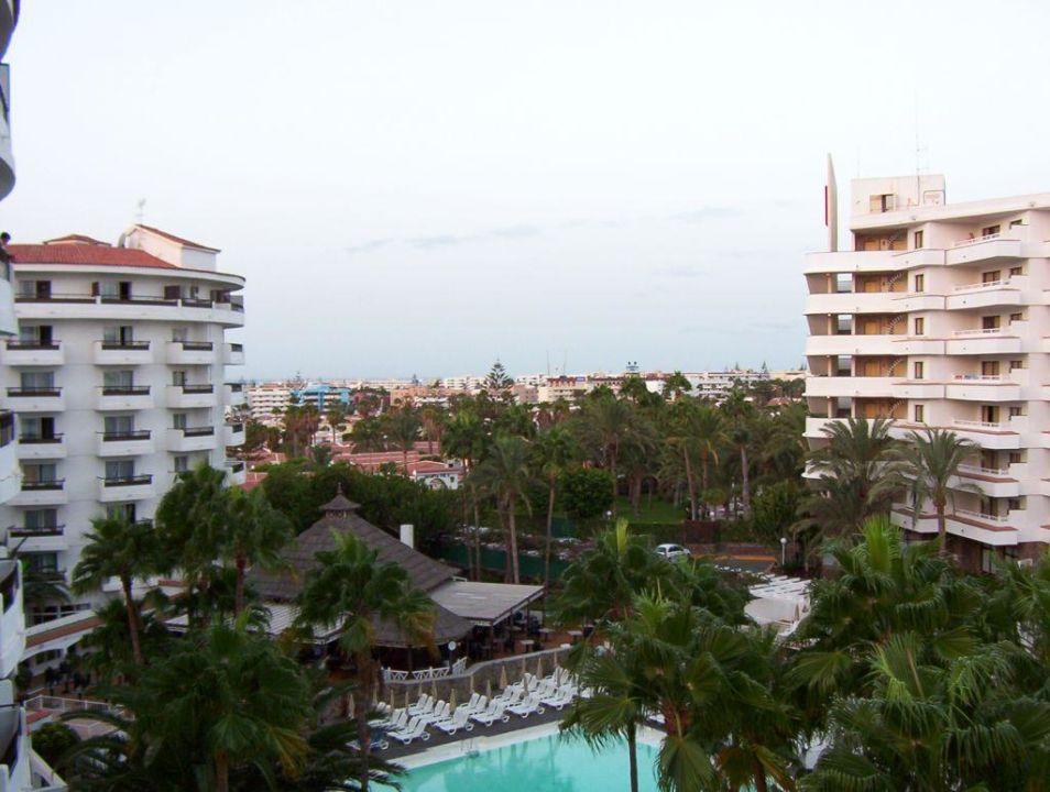 Ausblick Clubhotel Servatur Waikiki