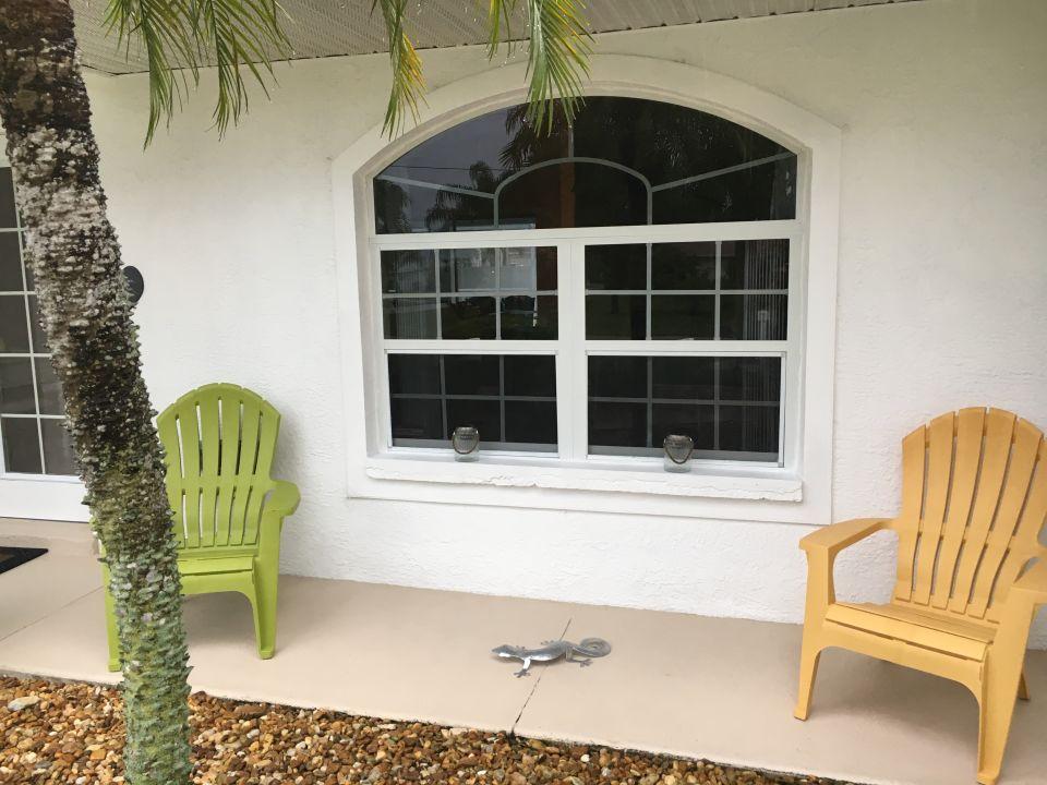 Außenansicht Villa Palm Island