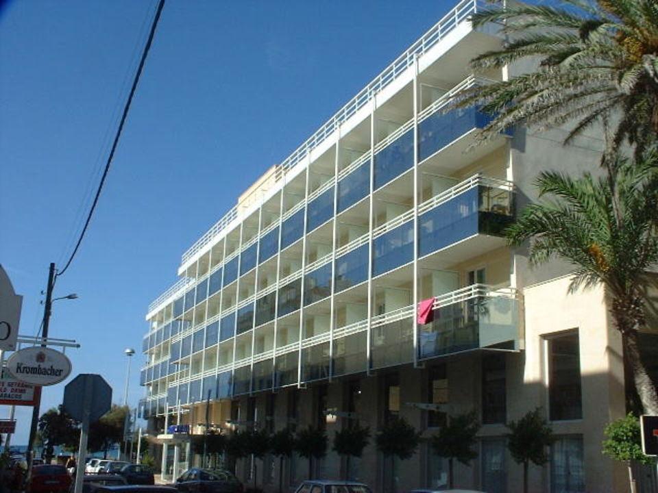 Hotel Hispania - Seitenansicht Hotel Hispania