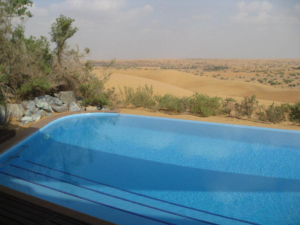 Privater Pool Al Maha Desert Resort & Spa
