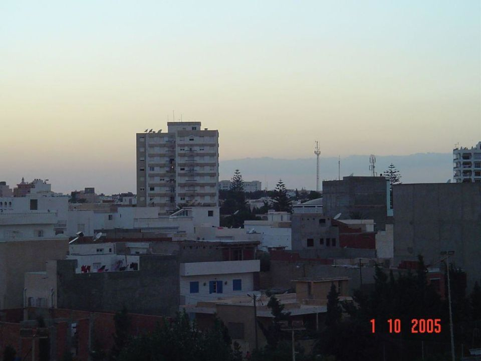 Sonnenuntergang Daphne Monastir Center