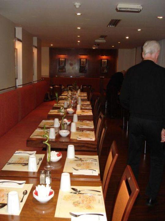 Teilansicht des Frühstückraumes Hotel Holiday Inn Paris Gare de L'est