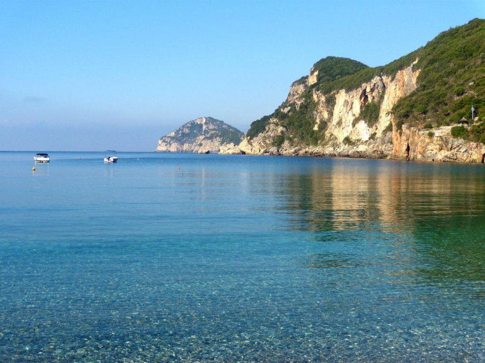 Liapades Beach - Liapades auf Korfu Hotel Arias