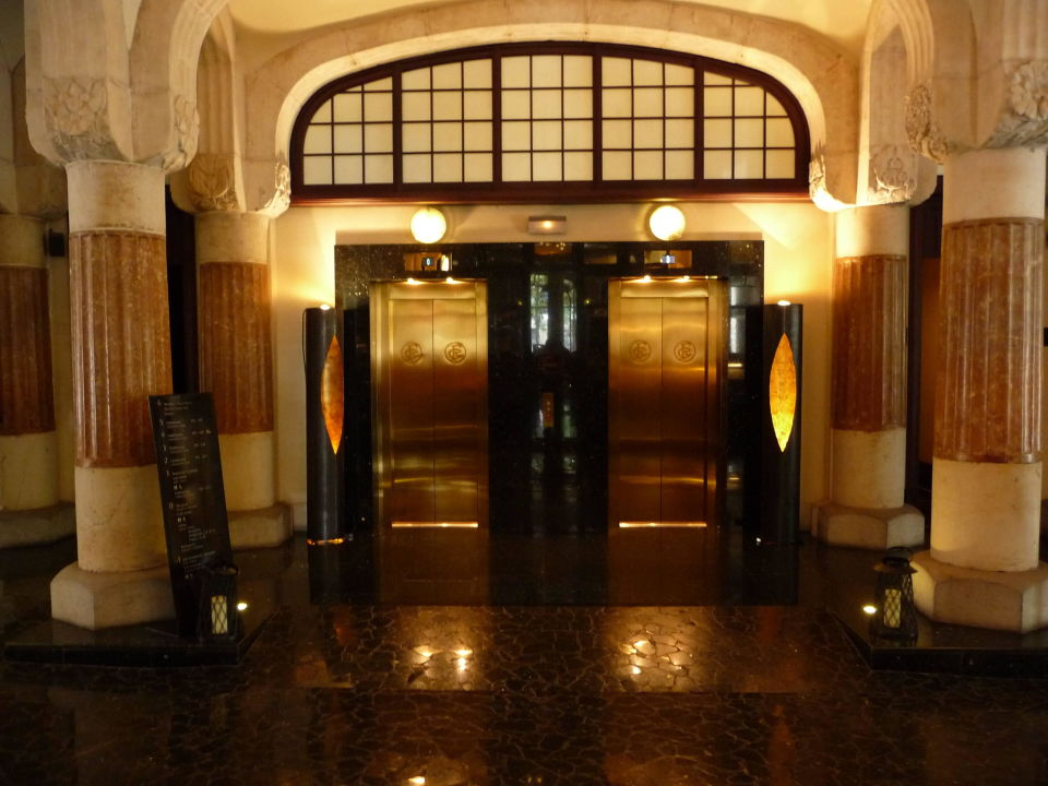 Fahrstuhl Hotel Casa Fuster