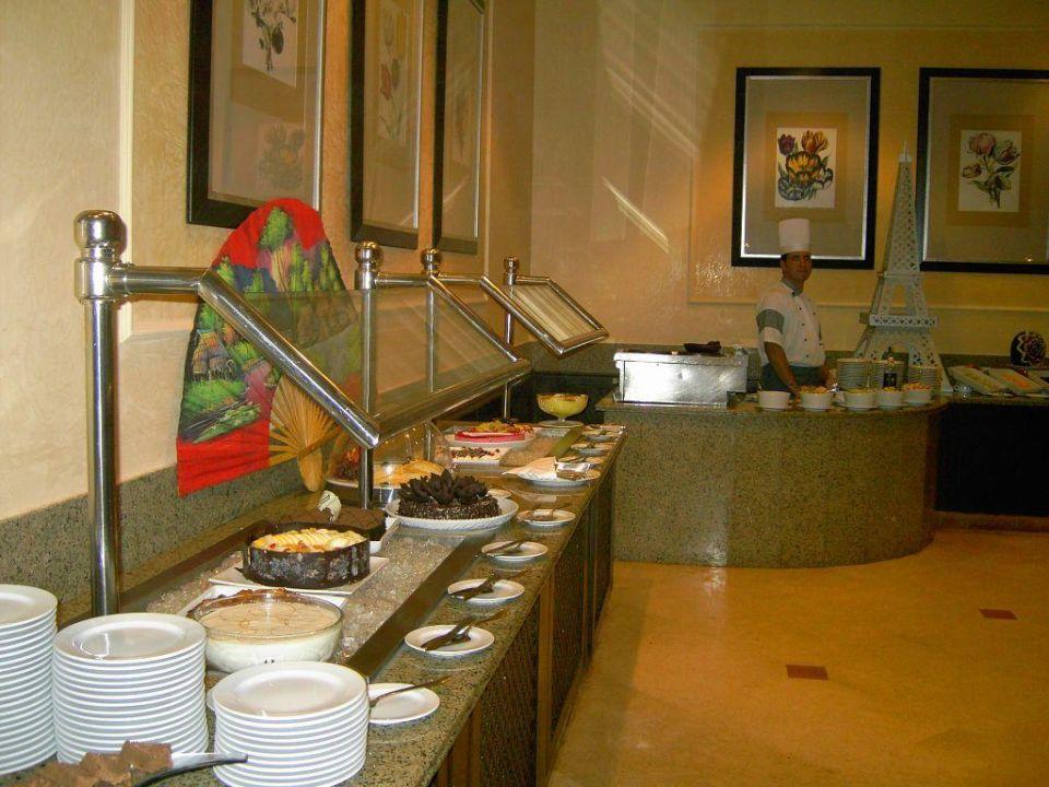 Buffet abends - Teil 3 Hotel JAZ Makadi Star & Spa