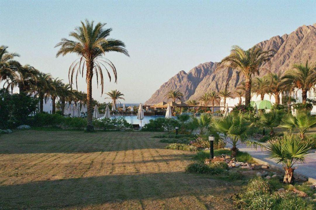 Pool und Grünanlagen Hotel Happy Life Village