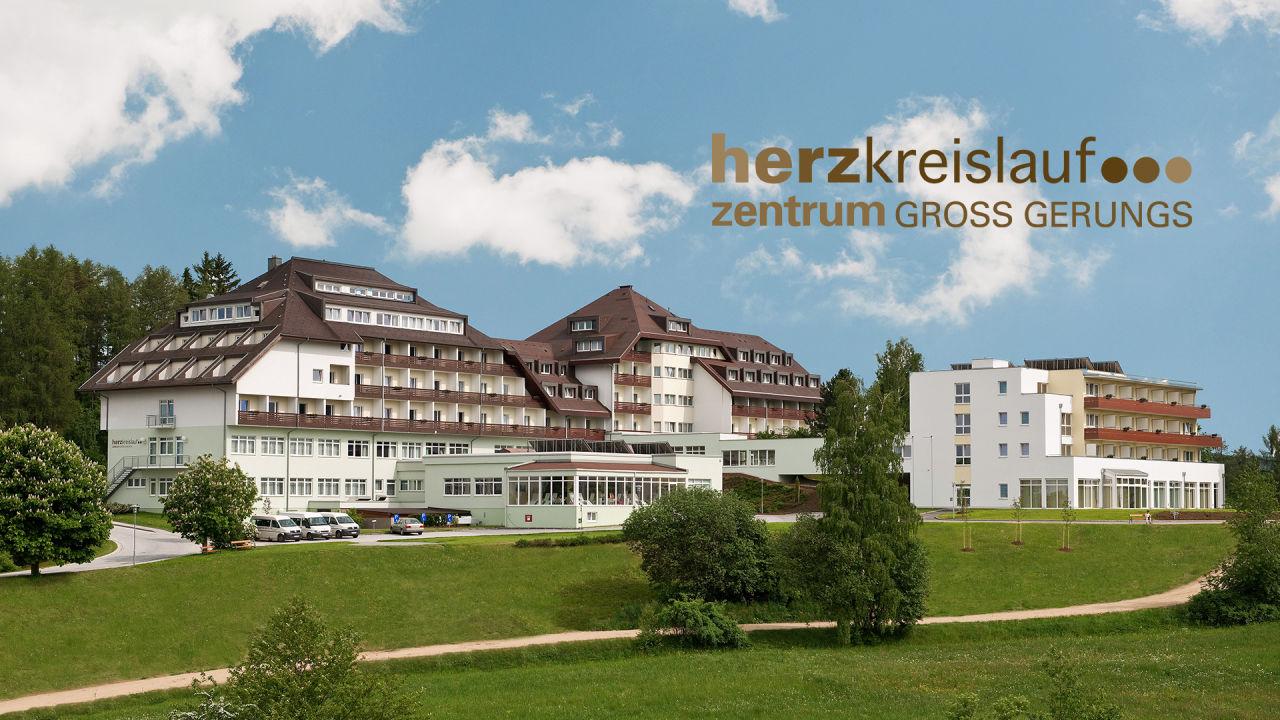 Außenansicht Hotel Herz-Kreislauf-Zentrum Groß Gerungs