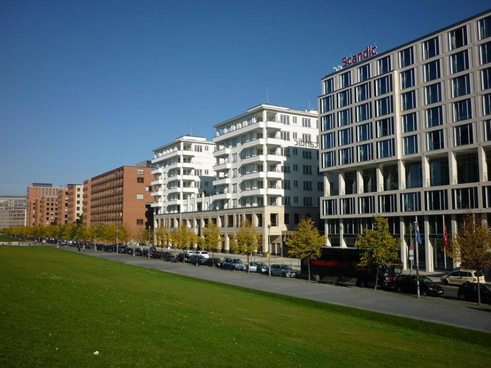 Wohnumfeld Hotel Scandic Berlin Potsdamer Platz