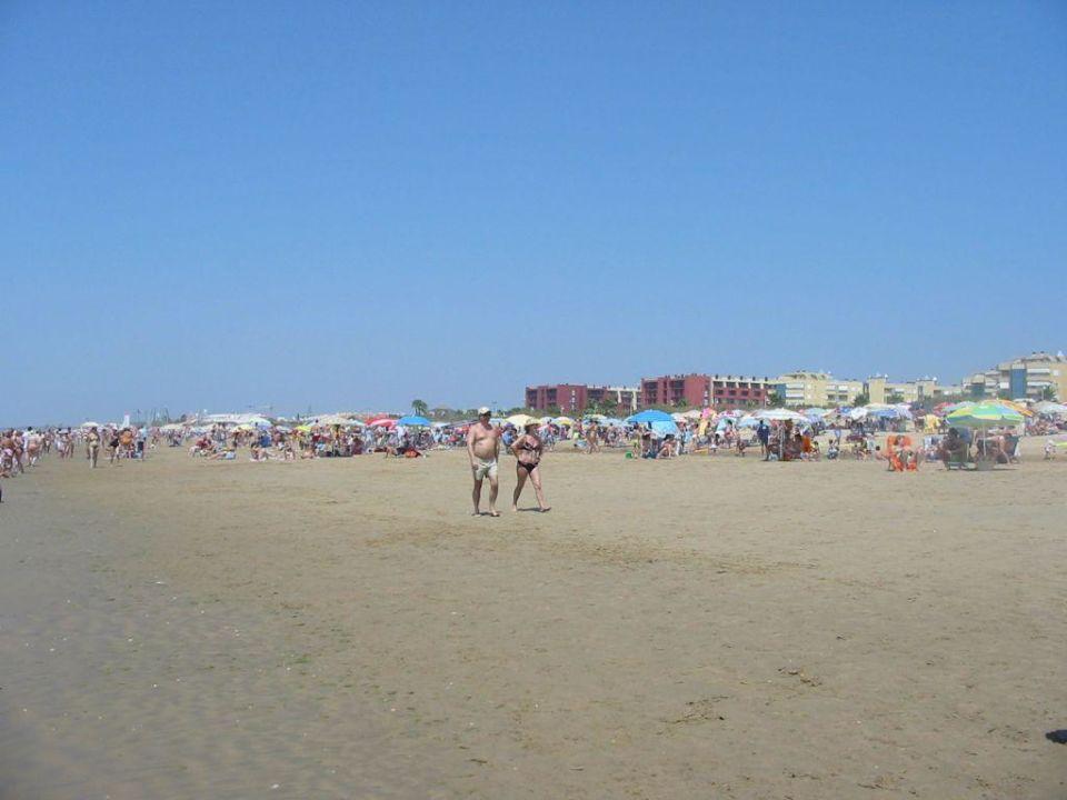 Der Strand, das Hotel und viele Menschen... TUI FAMILY LIFE Islantilla