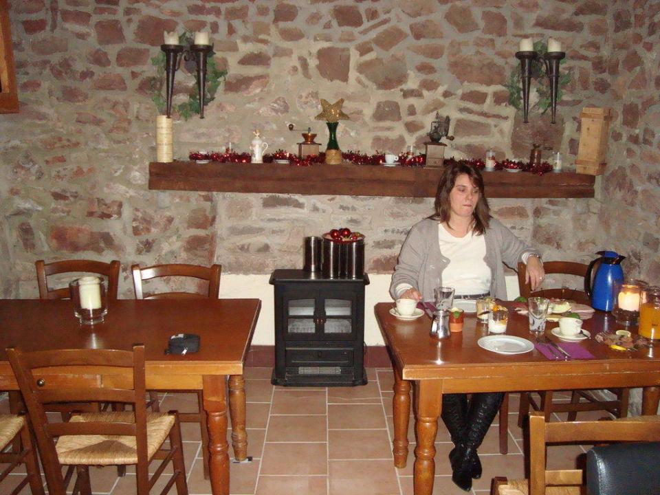 Frühstücksraum Ferienwohnung & Doppelzimmer Casa-Verde Vöhl