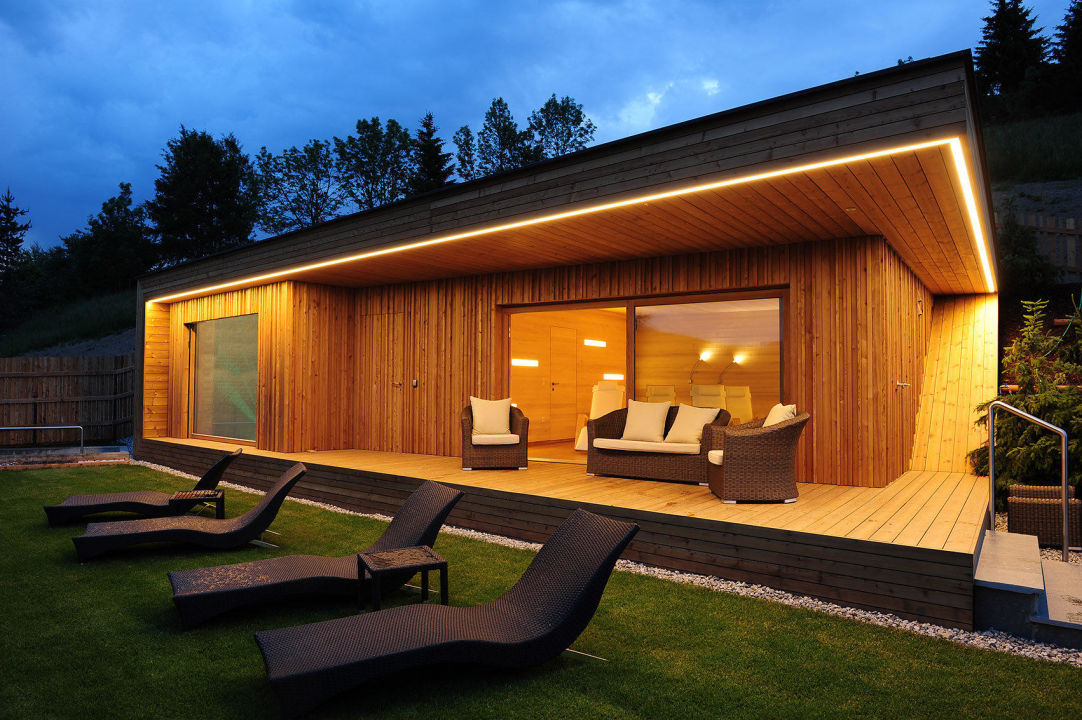 garten saunahaus. Black Bedroom Furniture Sets. Home Design Ideas