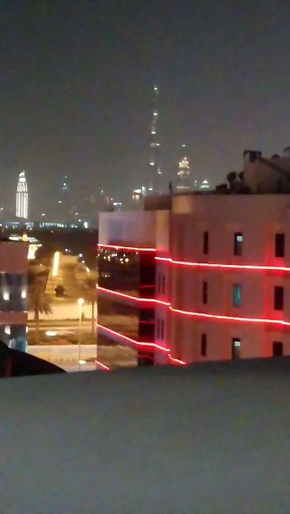 Ausblick Hotel Mövenpick Bur Dubai