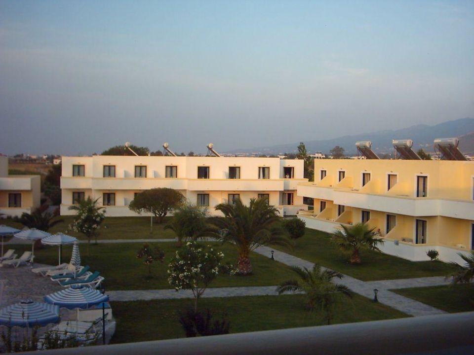 Blick vom Balkon aus Hotel Esperia