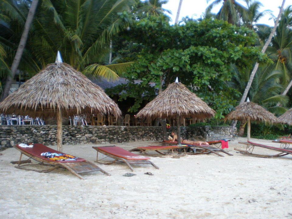 Strand vorm Hotel Hotel Sipalay Easy Diving and Beach Resort