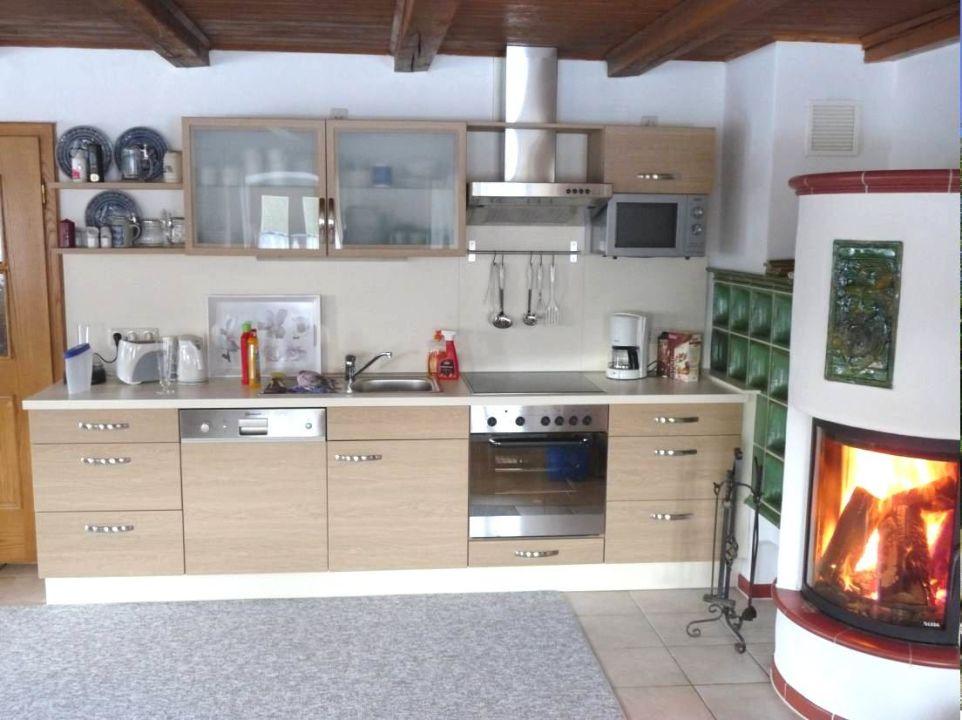 K che mit kaminofen landhaus bayerischer wald in for Kaminofen landhaus