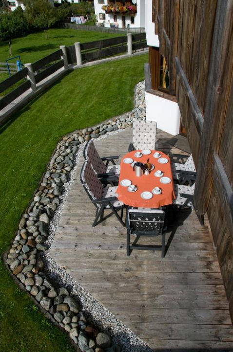 Unsere Gartenanlage mit Terrasse Haus Binder