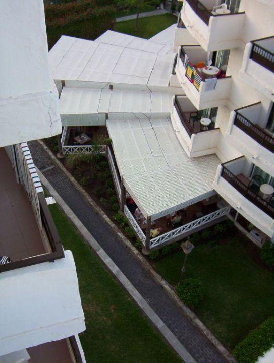 Speisesaal Clubhotel Servatur Waikiki