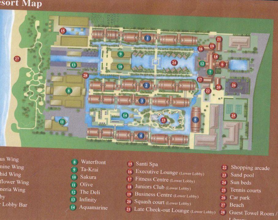 Quot Lageplan Vom Hotel Quot Jw Marriott Khao Lak Resort Amp Spa In Khuk Khak Beach Holidaycheck Khao