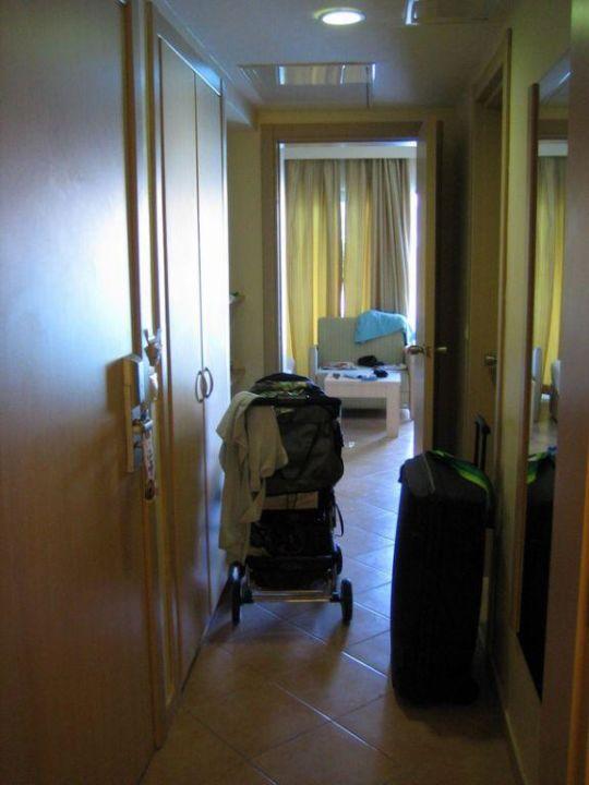 Familienzimmer Flur Hotel Silence Beach Resort