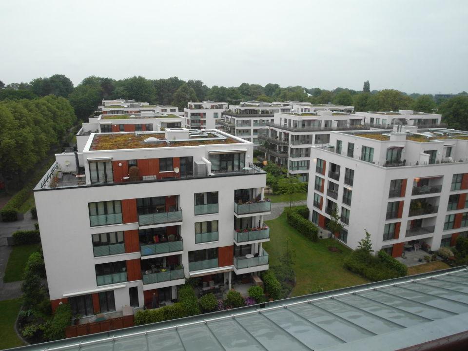 Seitenansicht Hotel Lindner Park-Hotel Hagenbeck