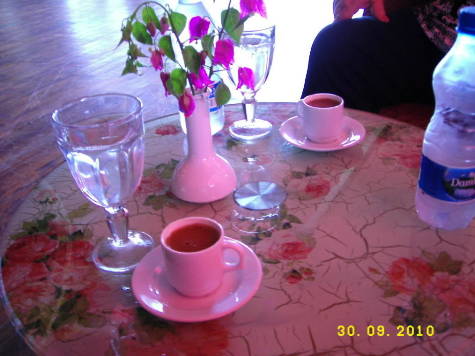 Türkischer Mokka! Exzellent köstlich! Green Max Hotel