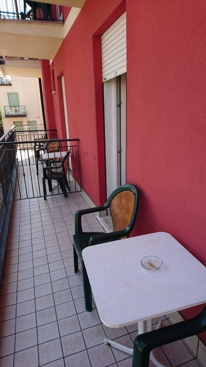 Balkon  Hotel Roby